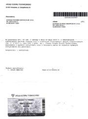Certyfikat F-GAZ Mariusz Kulpa