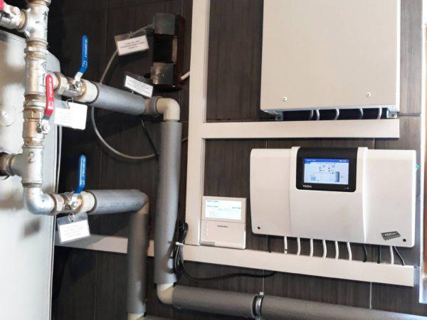 Pompa ciepła powietrze woda–Czerwienne X 2018-012