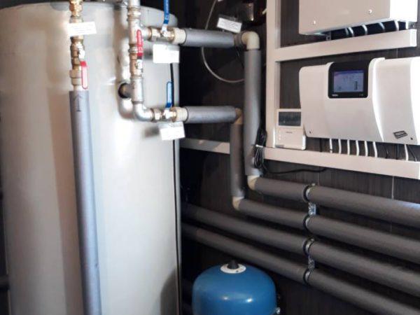 Pompa ciepła powietrze woda–Czerwienne X 2018-014