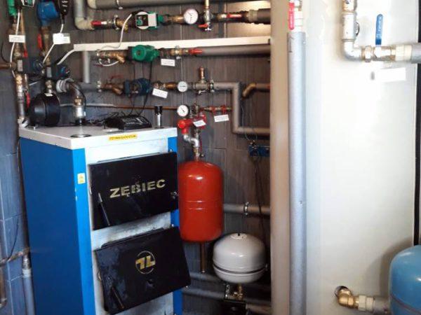 Pompa ciepła powietrze woda–Czerwienne X 2018-015