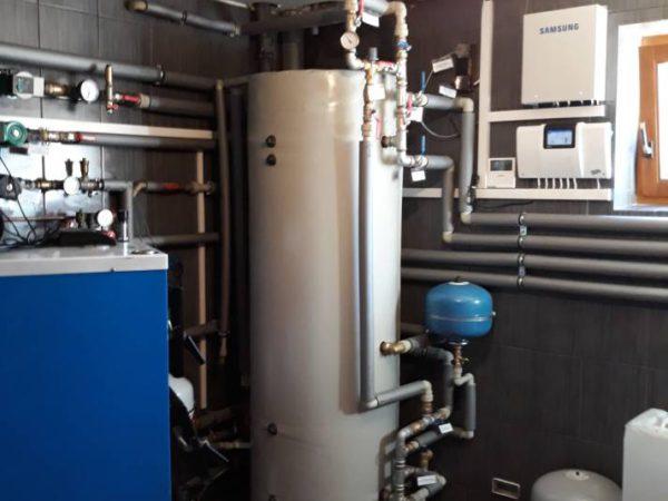 Pompa ciepła powietrze woda–Czerwienne X 2018-03