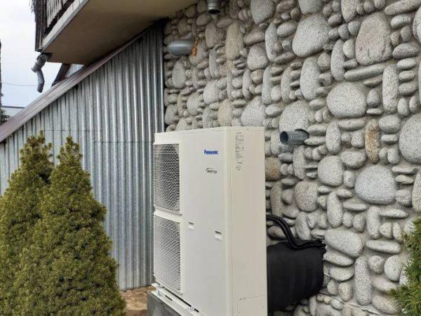 Pompa ciepła powietrze-woda–Ząb 2019-01