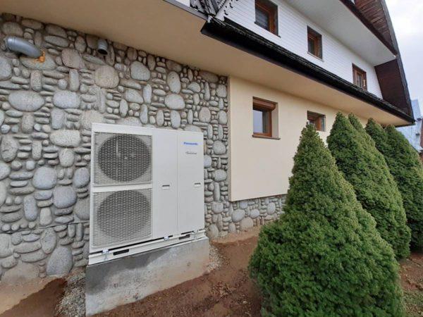 Pompa ciepła powietrze-woda–Ząb 2019-02