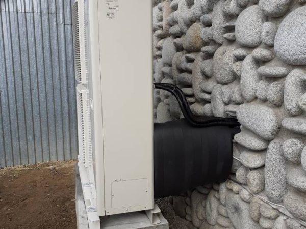 Pompa ciepła powietrze-woda–Ząb 2019-03