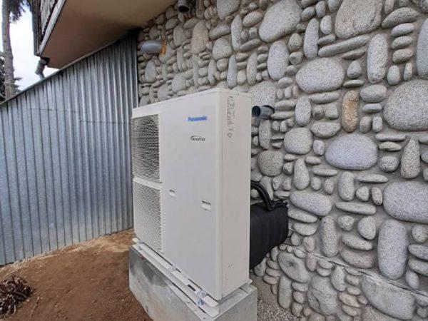 Pompa ciepła powietrze-woda–Ząb 2019-04