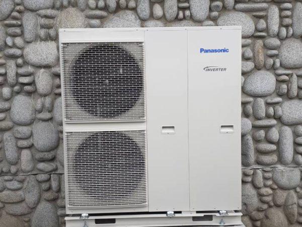Pompa ciepła powietrze-woda–Ząb 2019-05
