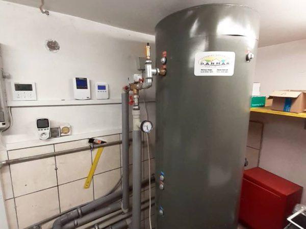 Pompa ciepła powietrze-woda–Ząb 2019-08