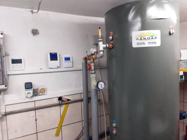 Pompa ciepła powietrze-woda–Ząb 2019-09