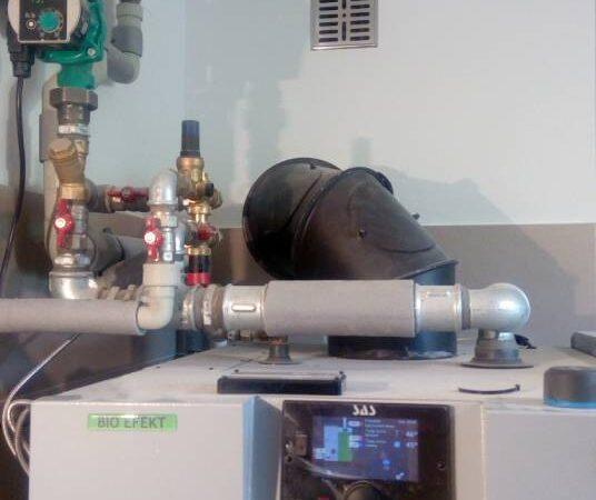 Pompa ciepła powietrze woda–Zakopane VI 2018-09