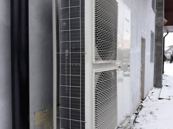 Pompa ciepła powietrze woda –Łopuszna 2018-04