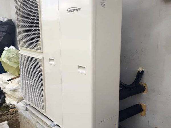 Pompa ciepła powietrze-woda – Raba Niżna 2019-04
