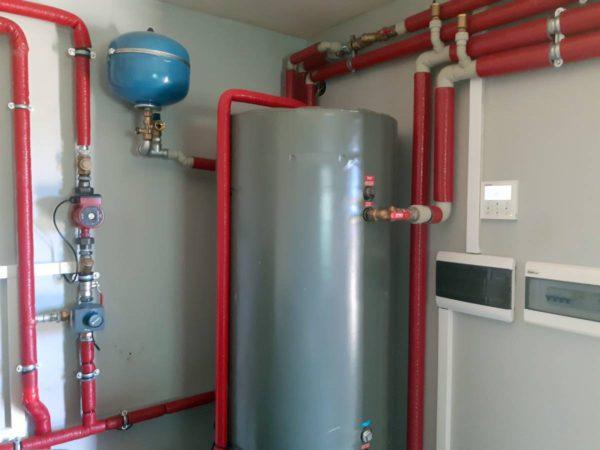 Pompa ciepła powietrze-woda – Raba Niżna 2019-08