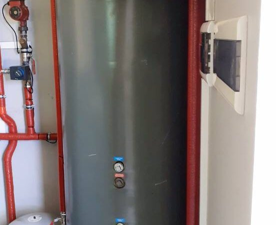 Pompa ciepła powietrze-woda – Raba Niżna 2019-09