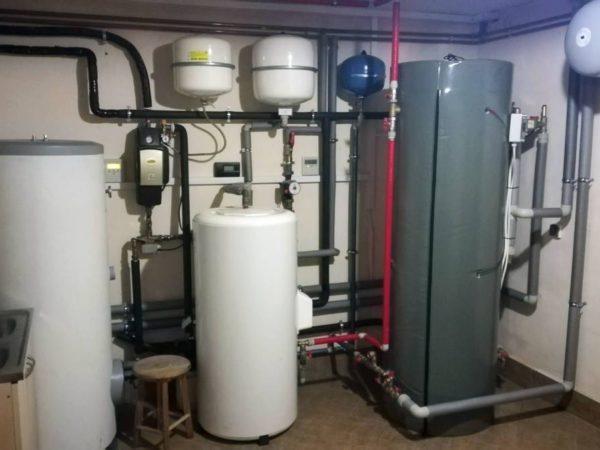 Pompa ciepła powietrze-woda –Krościenko 2019-01