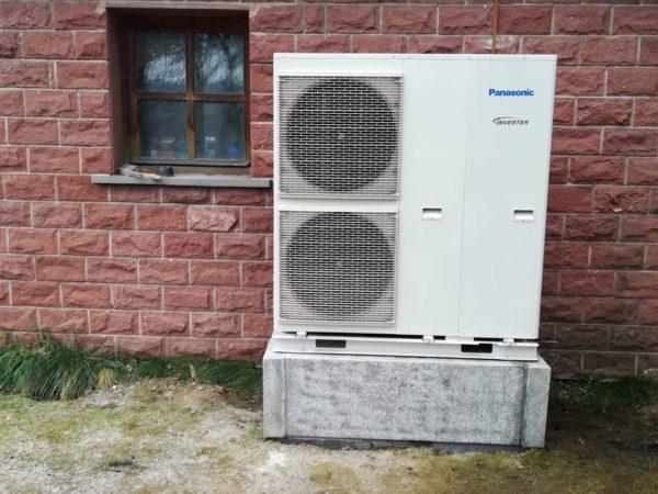 Pompa ciepła powietrze-woda –Krościenko 2019-02