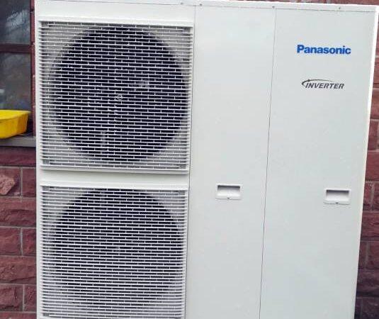 Pompa ciepła powietrze-woda –Krościenko 2019-04