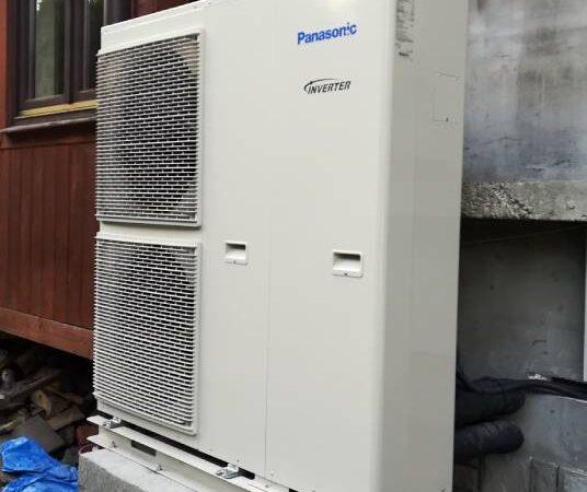 Pompa ciepła powietrze-woda –Zakopane 2019-03