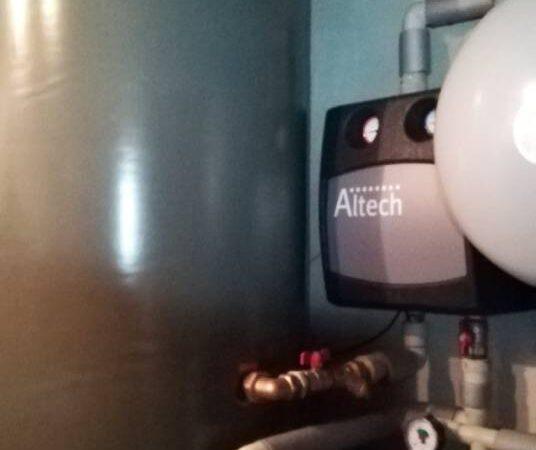 Pompa ciepła powietrze-woda –Zakopane 2019-05