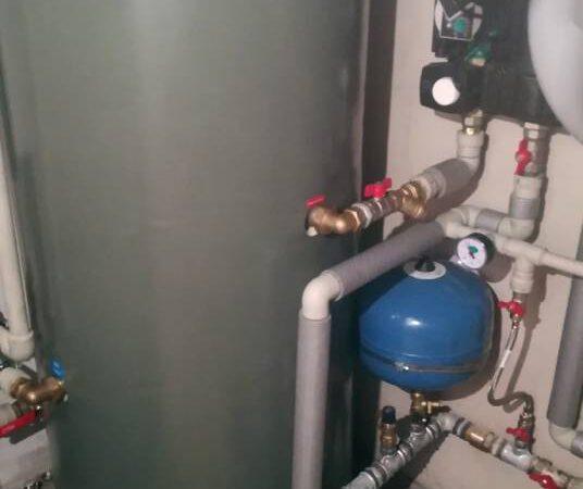 Pompa ciepła powietrze-woda –Zakopane 2019-07