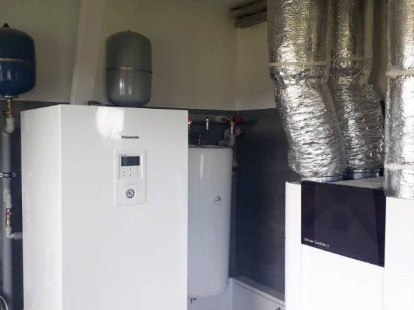 Pompa ciepła powietrze- woda Split Nowa Biała 2019-03-011