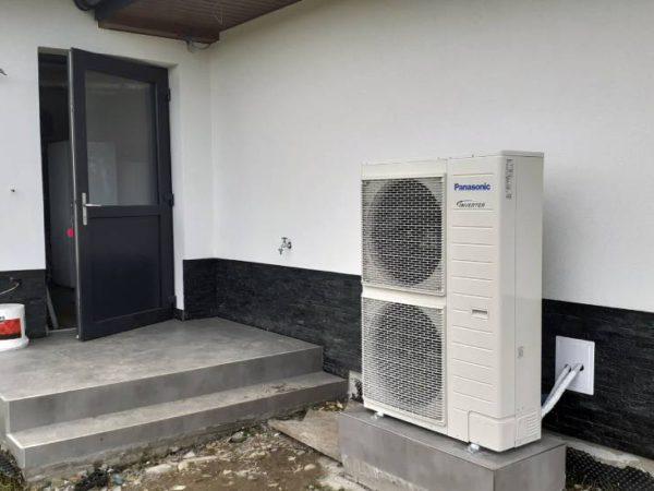 Pompa ciepła powietrze- woda Split Nowa Biała 2019-03-013