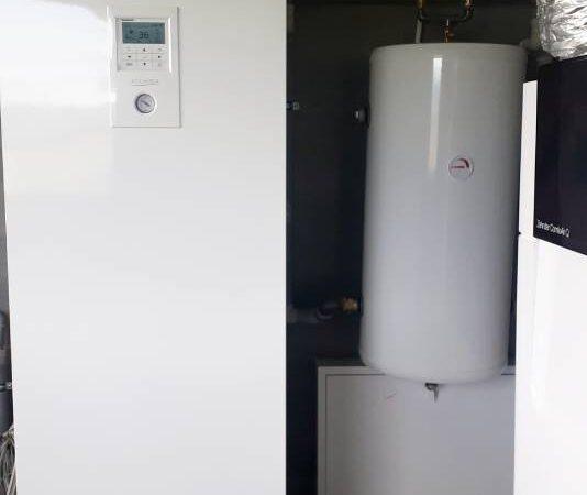 Pompa ciepła powietrze- woda Split Nowa Biała 2019-03-035