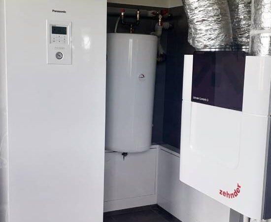 Pompa ciepła powietrze- woda Split Nowa Biała 2019-03-05