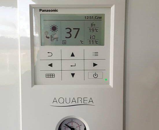 Pompa ciepła powietrze- woda Split Nowa Biała 2019-03-06