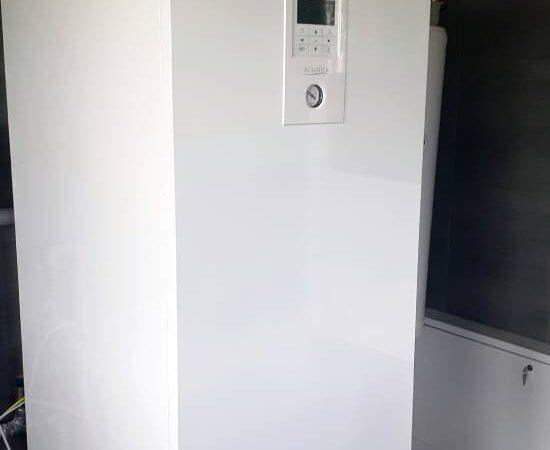 Pompa ciepła powietrze- woda Split Nowa Biała 2019-03-08