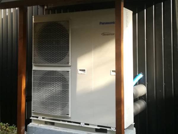 Pompa ciepła typu MONOBLOK