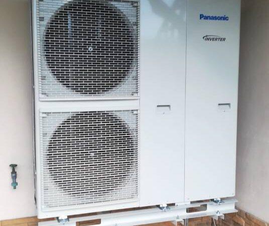 Pompa ciepła powietrze-woda w–Grywałd 2019-01