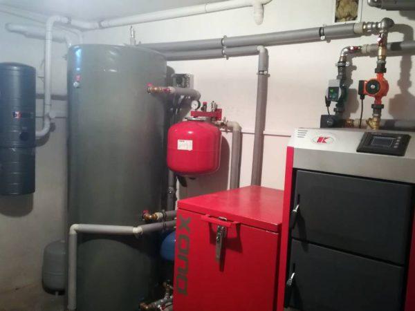 Pompa ciepła powietrze-woda w–Grywałd 2019-03
