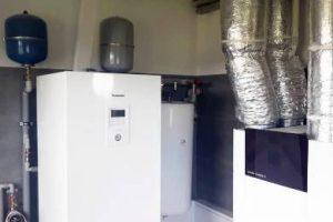 Pompa ciepła powietrze- woda Split