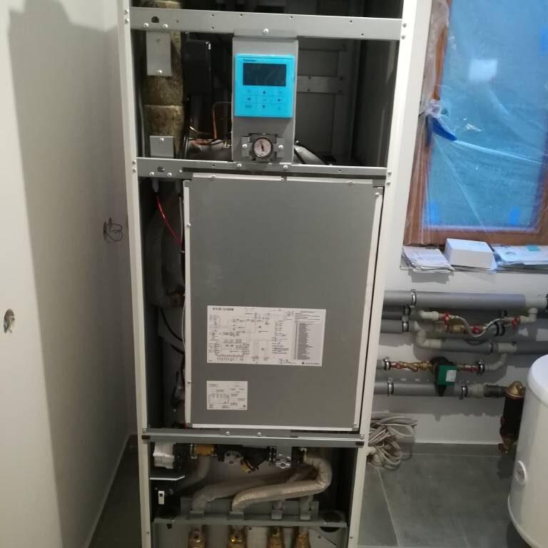DANMAR-Pompa ciepła powietrze-woda Split – Lipnica Wielka Kiczory 2020 (10)
