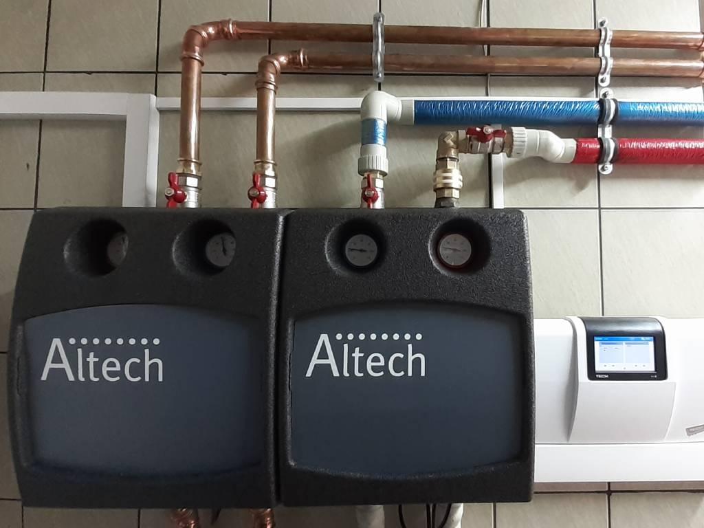 DANMAR-Pompa ciepła powietrze-woda w wersji Split 16 kW - Rzepiska 2020 (10)