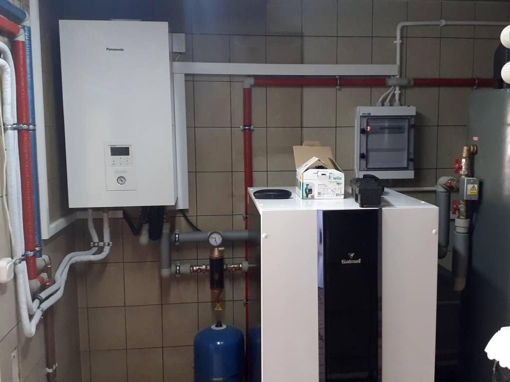 DANMAR-Pompa ciepła powietrze-woda w wersji Split 16 kW - Rzepiska 2020 (2)